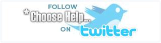 Follow Choosehelp.com on Twitter